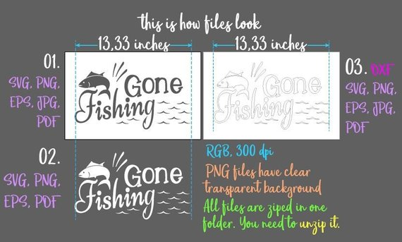 gone fishing svg camping clipart lake svg happy camper life quote word silhouette cut