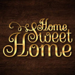 Home Sweet Home Sign SVG Files for Cricut House Wall Decor Art Hanging Housewarming Gift
