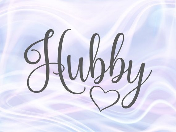 Hubby SVG Files for Cricut Wifey Honeymoon t-Shirt Just Married Couple Matching