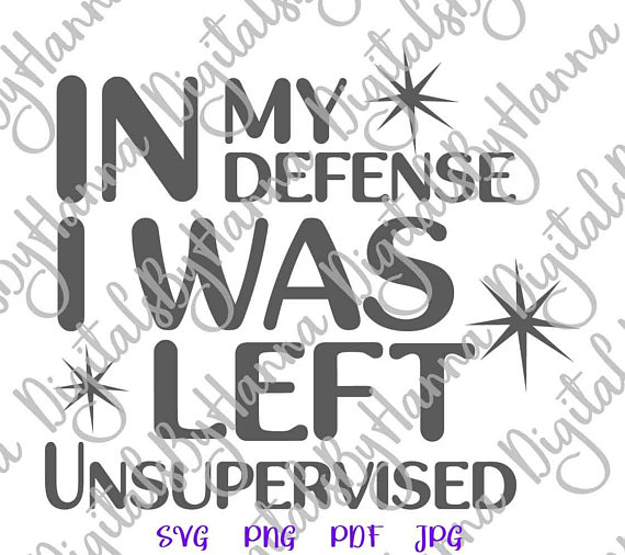 in my defense funny quote svg onesie outfit