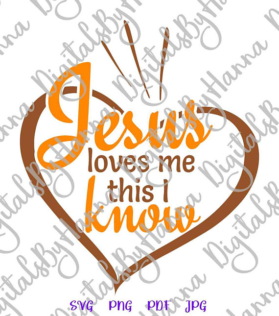 jesus loves me religious svg heart vector clipart svg file for cricut