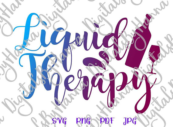 liquid therapy alcohol lover iron on transfers collage sheets