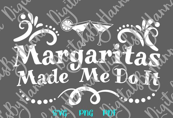 margaritas fiesta svg files for cricut saying funny quote word print sign
