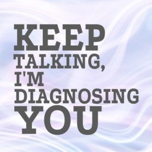 Keep Talking I'm Diagnosing You SVG Med Student Medecine Doctor Therapist Speech