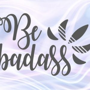 sarcastic svg files for cricut saying be badass funny quote hand lettering snarky sassy