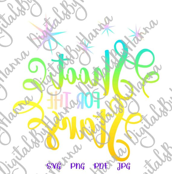 shoot for the stars svg encouraging quote arts mirror reversed