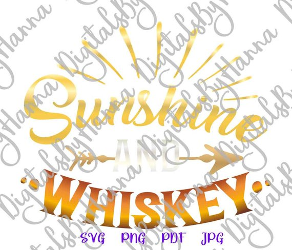 sunshine and whiskey alcohol lover gift dad glass