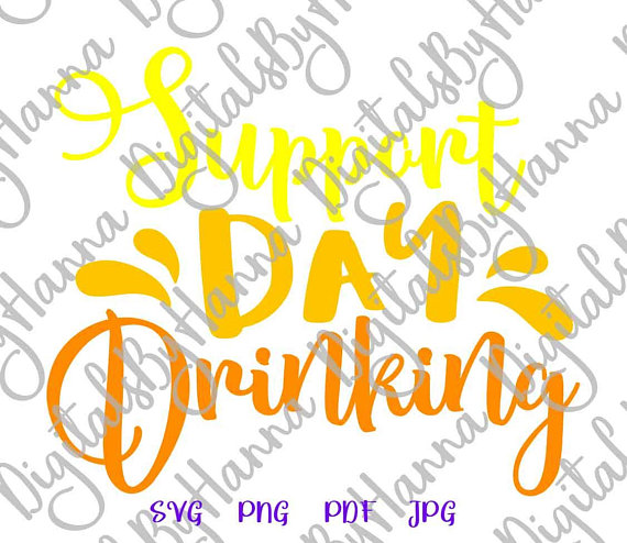 support day drinking svg wine svg files for cricut saying funny alcohol lover