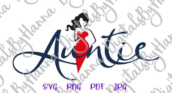 auntie svg my favorite best aunt ever sign vector clipart print