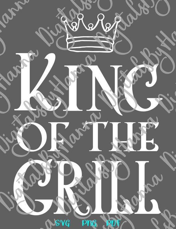 bbq svg king of the grill master apron sign lettering barbecue grilling