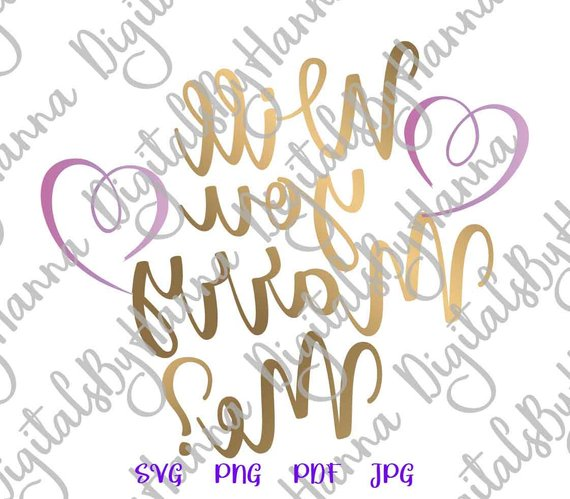 will you marry me svg marriage proposal arts mirror reversed