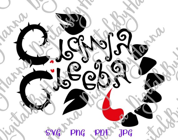 halloween svg files creepy crawly monster party quote lettering decoration sign