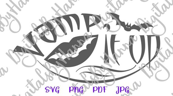halloween svg saying vamp it up bat vampire party print tee tshirt cut sign