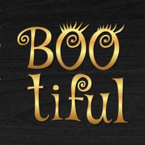 Happy Halloween SVG Files for Cricut Bootiful Scary Clipart Invite Printt Decoration