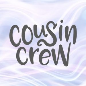 Cousin Crew SVG Files for Cricut Squad Funny Family Print Outfit Word Hand Lettering