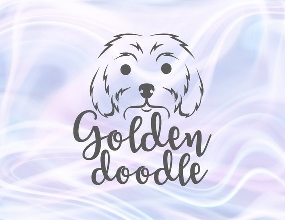 Dog Mom SVG Files for Cricut Golden Doodle Face Labradoodle Print Sign