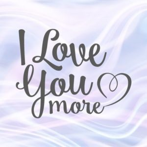 Saying I Love You More SVG Most Just Married Romantic Quote Honeymoon Print Clipart