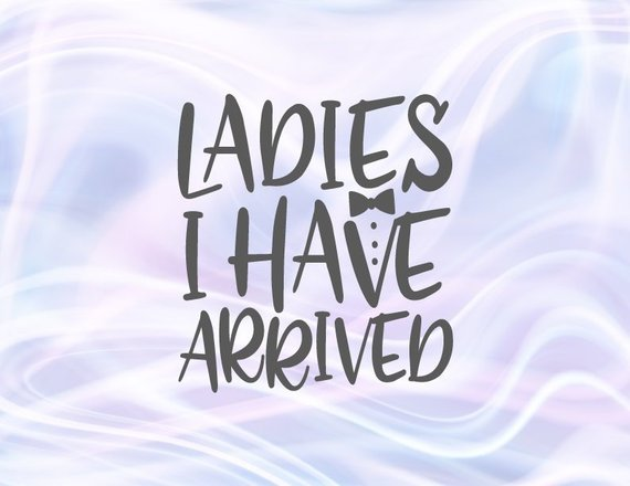 Funny Baby Boy Onesie SVG Ladies I Have Arrived New Baby Coming Take Home Outfit