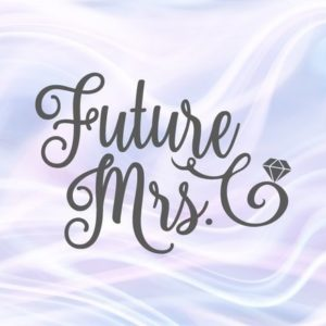 Bachelorette SVG Saying Future Mrs Bride Print Wedding Shower Silhouette Cut Glass