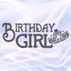 Birthday Girl SVG Baby Onesie Tiara 1st Outfit Princess Crown Clipart Sash Banner
