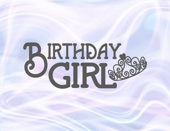 Birthday Girl SVG Baby Onesie Tiara 1st Outfit Princess Crown Clipart Sash Banner