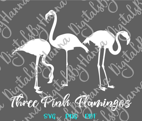 Flamingo SVG Summer graphics t-Shirt Tee Bag Sign Print Silhouette Laser Cut