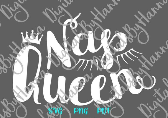 Funny Baby Girl Onesie SVG Nap Queen Little Napper Mat Pillow Word Sign