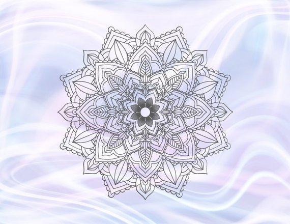 Mandala SVG Files for Cricut Pochoir Mandala Stencil SVG Zentangle Circle Woman Vinyl