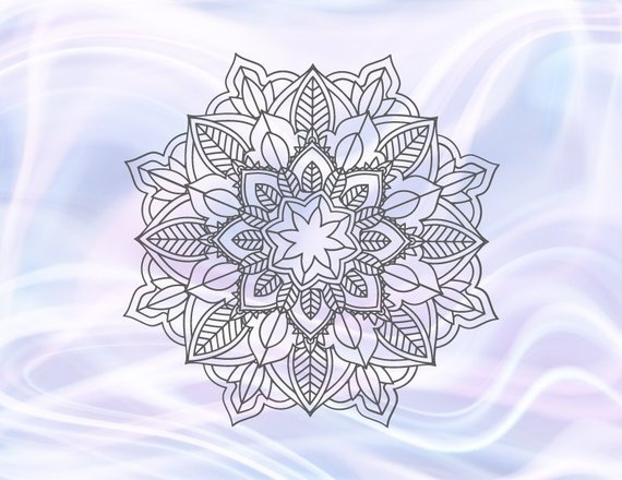 Mandala SVG Files for Cricut Pochoir Zentangle Circle Laptop Mac Print Design Cut