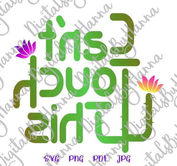 Sarcastic Files for Cricut Saying Can't Touch This SVG Cactus Clipart Cacti Sign Cut