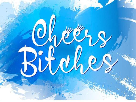 Bachelorette SVG Saying Cheers Bitches Bride Tribe Team Squad Print Wedding Bridal Shower