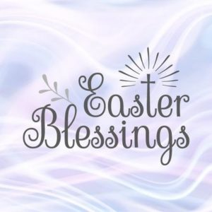 Easter SVG Blessings Christian Cross Clipart t-Shirt Sign Print Silhouette Cut