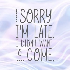 Introvert SVG Sorry I'm Late I Didn't Want to Come Funny Clipart Stay Home t-Shirt