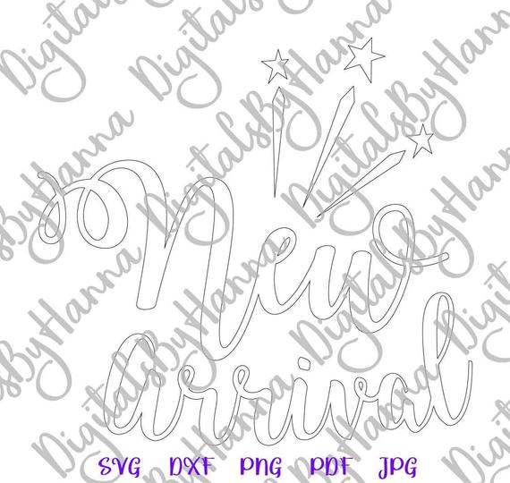 Baby Onesie SVG Files for Cricut New Arrival ivf Quote Print Newborn Sublimation Graphics Cut