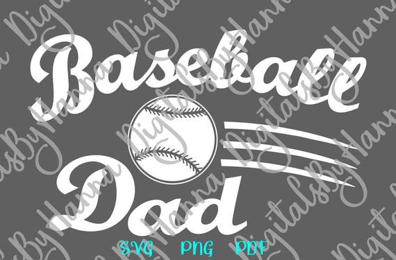 Baseball Dad SVG Father Player Proud Sport Family Ball t-Shirt Clipart