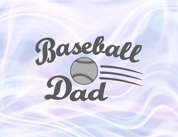 Baseball Dad SVG Files for Cricut Papa Father Player Proud Sport Family Ball t-Shirt