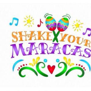 Cinco de Mayo SVG Files for Cricut Saying Shake Your Maracas Mexican Fiesta Clipart