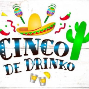 Cinco de Mayo SVG Saying Cinco de Drinko Mexican Fiesta SVG Clipart t-Shirt Print Cut