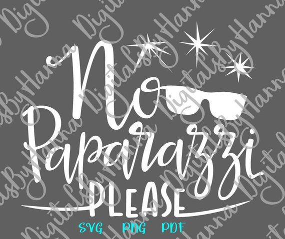 Funny Baby SVG Files for Cricut No Paparazzi Please Take Coming Home Outfit Cut Print
