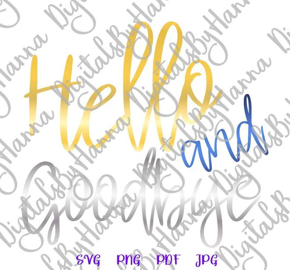Introvert Files for Cricut Saying Hello and Goodbye SVG Funny Quote Let's Stay Home Sign tShirt