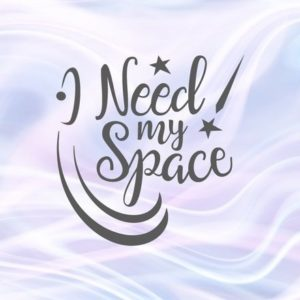 Introvert SVG Files for Cricut I Need My Space Funny Quote Let's Stay Home Sign Laser Cut Vector