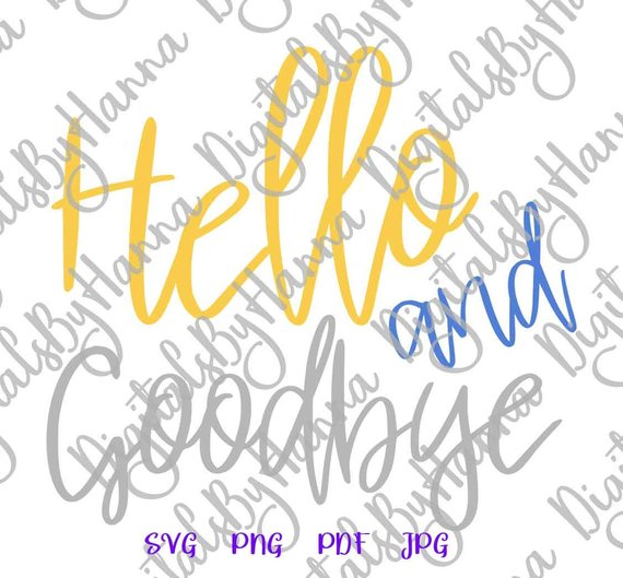 Introvert SVG Hello and Goodbye SVG Funny Quote Let's Stay Home tShirt Clipart