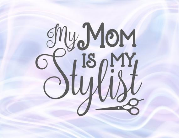 Mom and Me SVG Mother is My Stylist Onesie Funny Quote Mommy Life Outfit