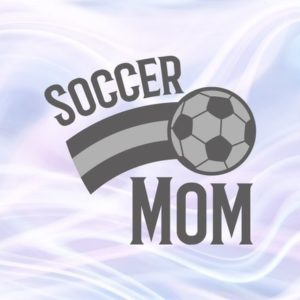 Mom life SVG Files for Cricut Soccer Mom Ball Cliparts T-shirt Sports Proud