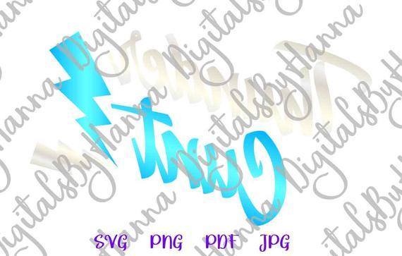 Swearing SVG File for Cricut Saying Thunder Cunt Sarcastic Cut Print Sublimation