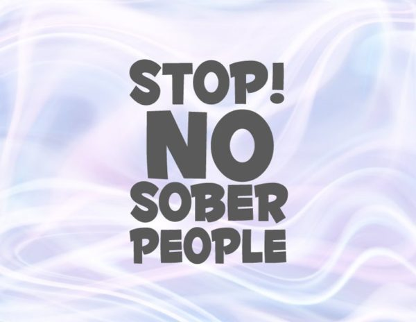 Bachelorette Party SVG Stop No Sober People Funny Quote Birthday Bridal Shower