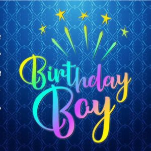 Birthday Boy SVG Baby Onesie 1st Outfit Clipart Sash Banner Quote Cut Print Graphics