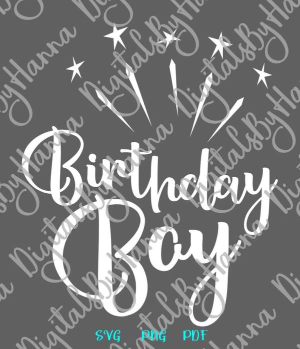 Birthday Boy SVG Files for Cricut Baby Onesie Outfit Clipart Sash Banner Quote Cut Print Sublimation