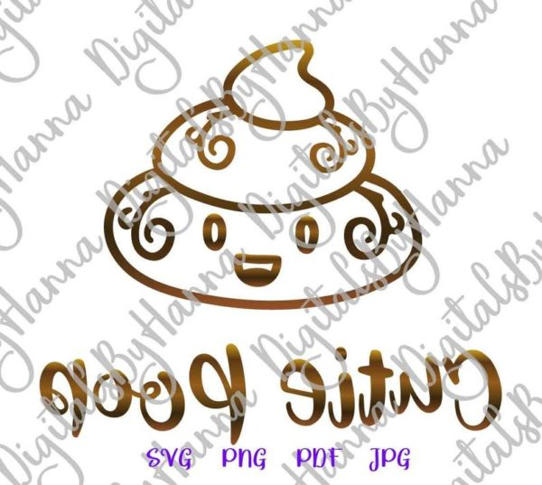 Cute Poop Bag Sign Dog Mom Pet Lover Clipart Sublimation Graphics Gift