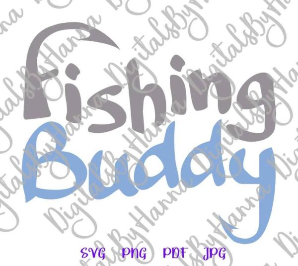 Lake SVG Files for Cricut Fishing Buddy Camp Clipart Hook Sign Fisherman Happy Camper Life